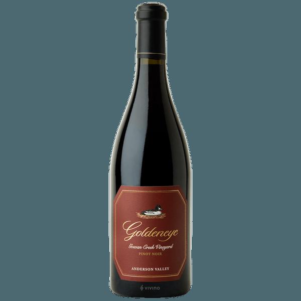 2018 Goldeneye Pinot Noir Gowan Creek Vineyard
